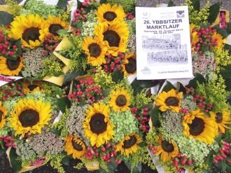 Blumen Blumenstrauß Strauß Ybbsitz Waidhofen Riedl Marktlauf Ybbsitz